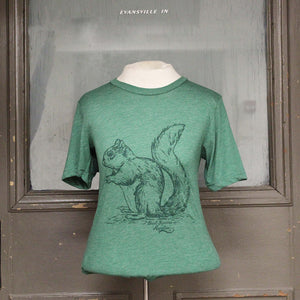 Great Squirrel Migration Shirt - Green