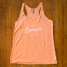 Load image into Gallery viewer, Made in Evansville, Indiana Tank Top - Peach