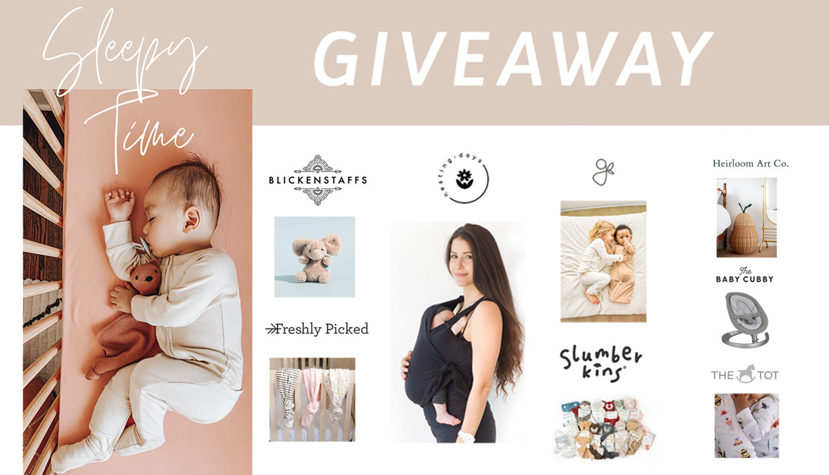 Sleepy Time Giveaway - Enter To Win!