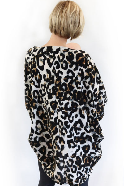 Breastfeeding Cover-Up - Leopard Print