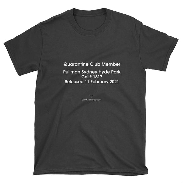 Mark B Quarantine Tee