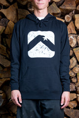 Throwback Hooded Sweatshirt, Black