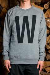 The Big W Pullover, Heather