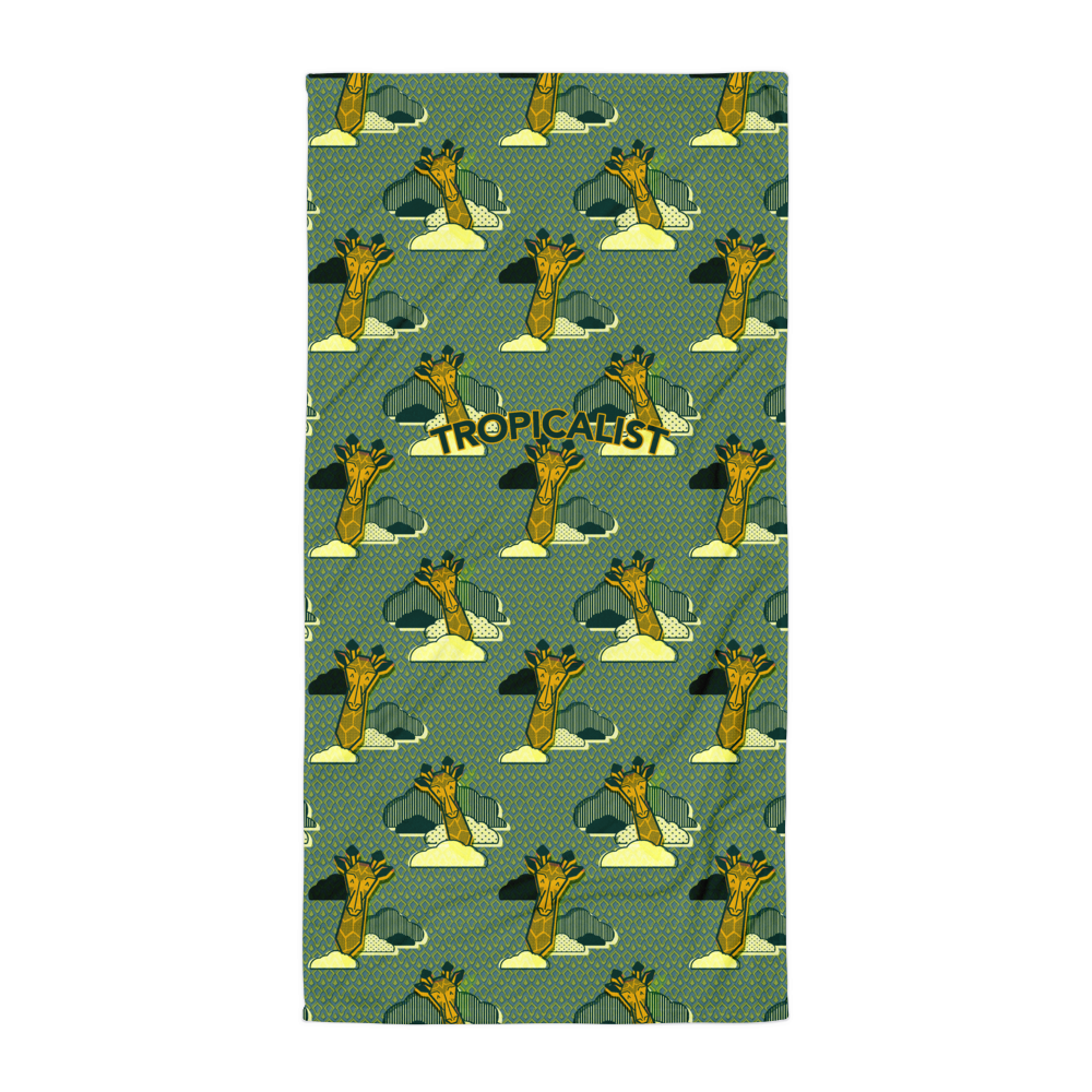 Serviette Girafe Safari Wax