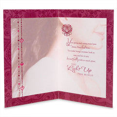 Stylish Women`S Day Greeting Card