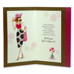 Women Are Amazing Greeting Card