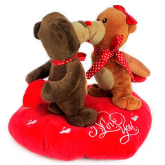 Cute Love Couple Bear (25 Cm)