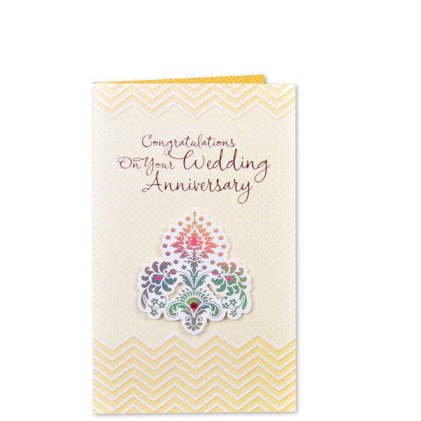 Greeting Card On Wedding Anniversary