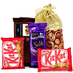 valentine chocolate by Hallmark india