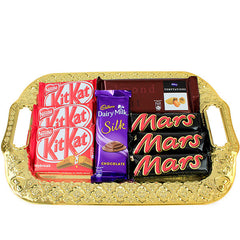 christmas chocolate hampers by Hallmark India