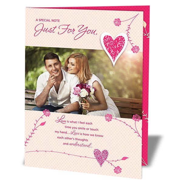 cards for valentine day in India