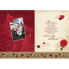 Love You My Love Personalised Card