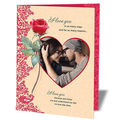 personalized valentines day cards in India