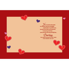For My Sweetheart Personalised Card