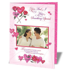 personalised valentines day cards in India