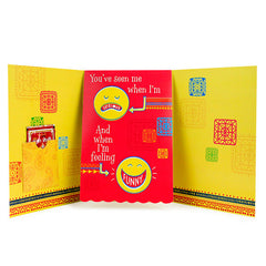 Bhai Dooj Brother Pop-Up Card