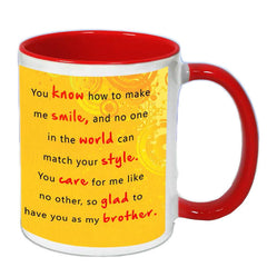 You Are The Hero My Brother Mug