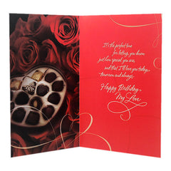 You Are My Sweetheart Birthday Jumbo Card