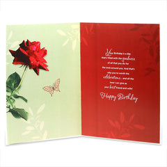 Best Hubby Birthday Greeting Card