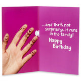 No 1 Sister Musical Birthday Card