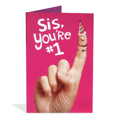 birthday greeting cards for sister pune