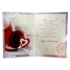 Lovely Couple Anniversary Jumbo Card