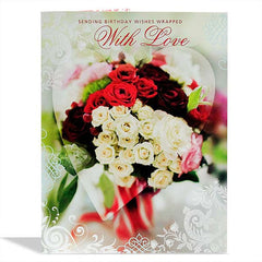 Birthday Wishes With Love Jumbo Card