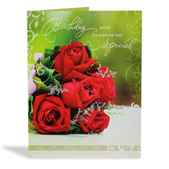Shop birthday message card