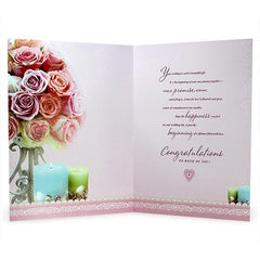 Wedding Wishes Jumbo Card