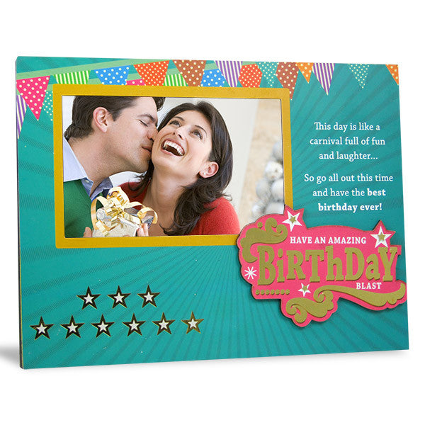 Send Birthday photo frame