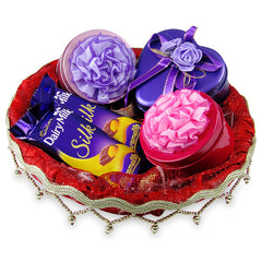 Choco gift hamper for birthday