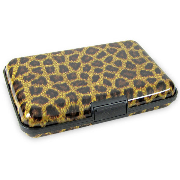 Card Holder With Animal Print