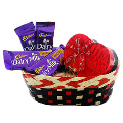 Basket Of Best Chocolates