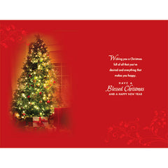 Happy Christmas Personalised Card