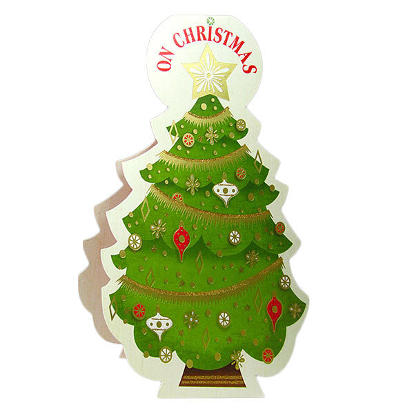 christmas tree card in india