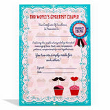 Greatest Couple Certificate