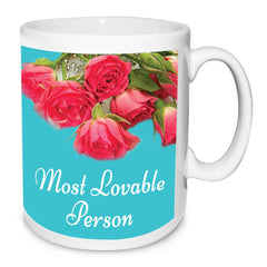 Lovable Person Personalised Birthday Mug