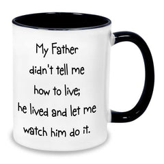 You Are My Hero Dad Personalised Mug