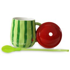 Hami Melon Mug With Lid