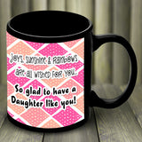 RainBow Personalised Mug For Daughter