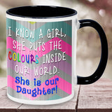 Colorful Mugs For Daughter