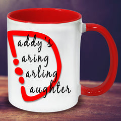 Daddy's Daughter Personalised Mug