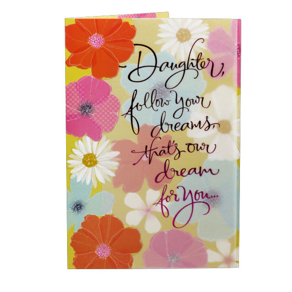 Beautiful Greeting Card For Daughter