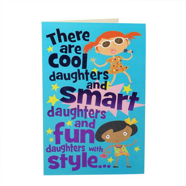Greeting Card For Super Daughter