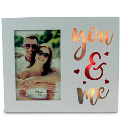 Stylish You & Me LED Frame
