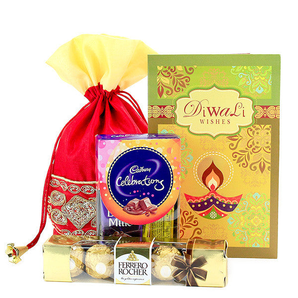send diwali chocolate hampers delhi
