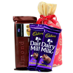 send diwali chocolate gift packs delhi