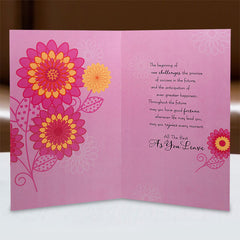Farewell Wishes Card