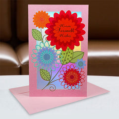 Shop farewell card