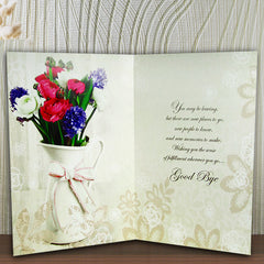 Farewell Wishes Greeting Card